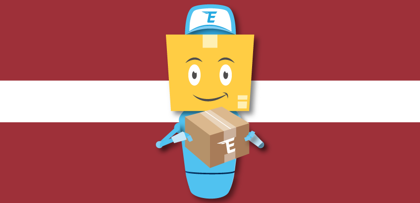 Parcels delivery from Latvia to the UK